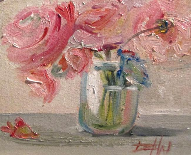 Art: Rose Still Life No.3 by Artist Delilah Smith
