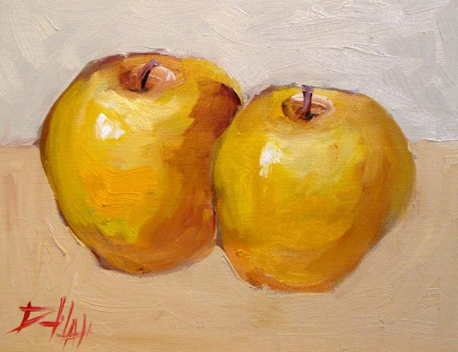 Art: Yellow Apples, No. 22 by Artist Delilah Smith
