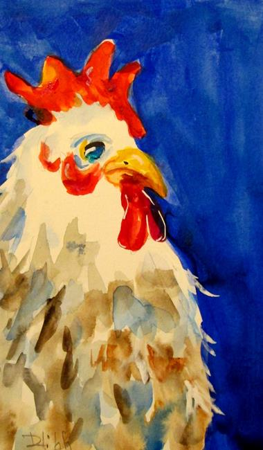 Art: Farm House Rooster by Artist Delilah Smith