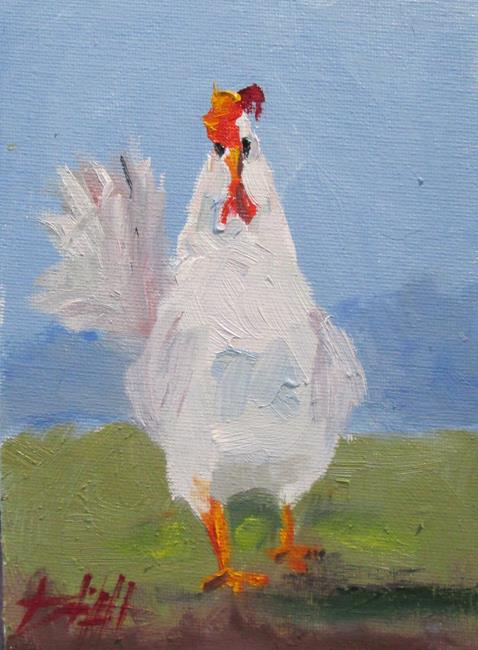 Art: Hen No. 2 by Artist Delilah Smith