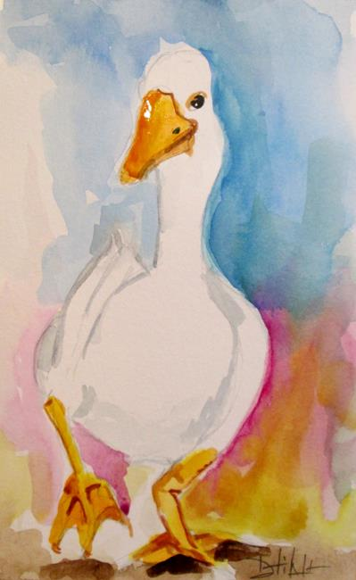 Art: Duck No. 4 by Artist Delilah Smith