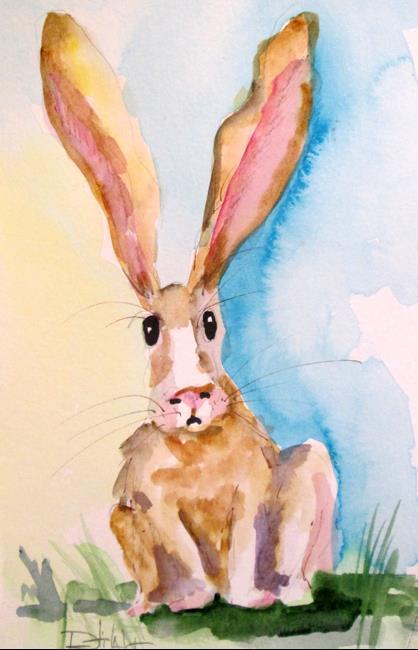 Art: Rabbit No. 3 by Artist Delilah Smith