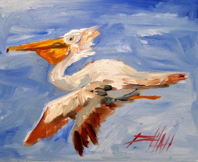 Art: Pelican No. 2 by Artist Delilah Smith