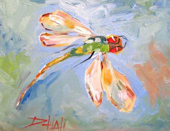 Art: Dragonfly No. 14 by Artist Delilah Smith