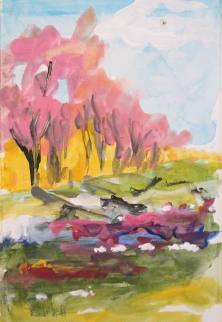Art: Tree Line by Artist Delilah Smith