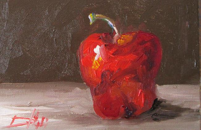 Art: Apple No. 22 by Artist Delilah Smith