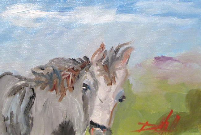 Art: Horse No. 6 by Artist Delilah Smith