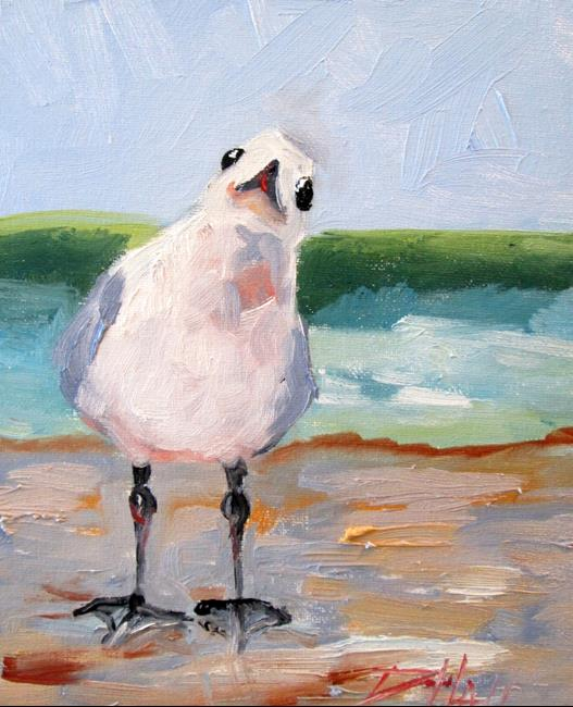 Art: Seagull No. 6 by Artist Delilah Smith