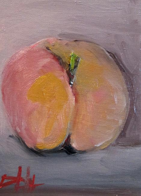 Art: Peach No. 2 by Artist Delilah Smith