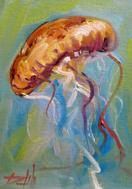 Art: Jellyfish No.7 by Artist Delilah Smith