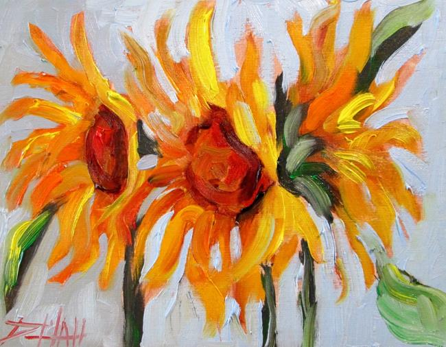 Art: Sunflowers No. 6 by Artist Delilah Smith