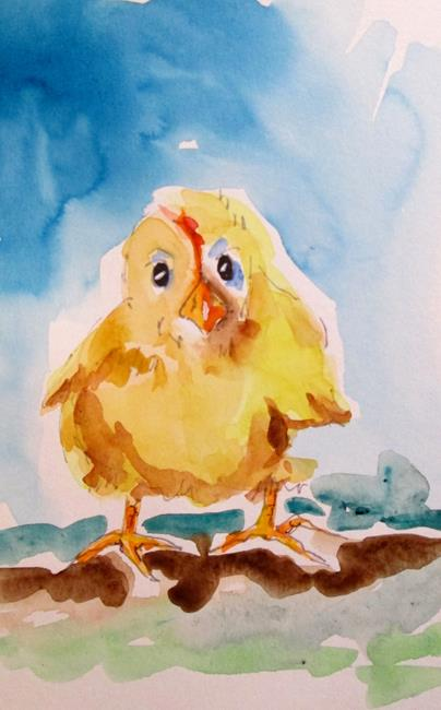 Art: Chick No. 3 by Artist Delilah Smith