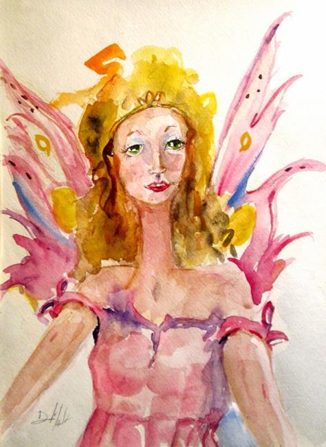 Art: Fairy Princess by Artist Delilah Smith
