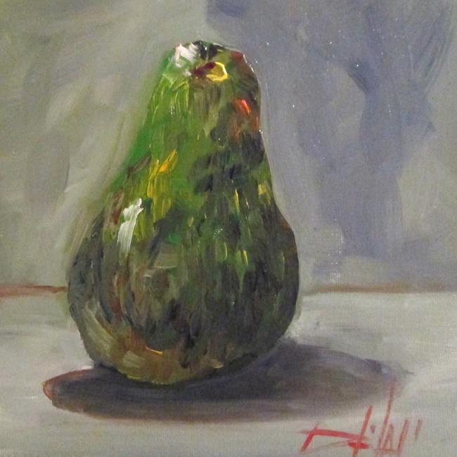Art: Avocado No. 5 by Artist Delilah Smith
