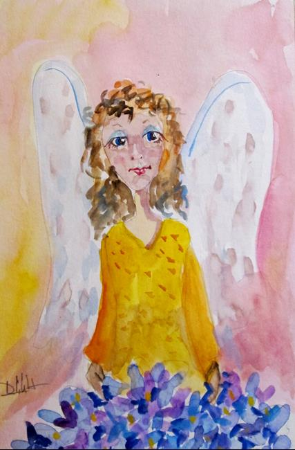 Art: Angel No. 24 by Artist Delilah Smith