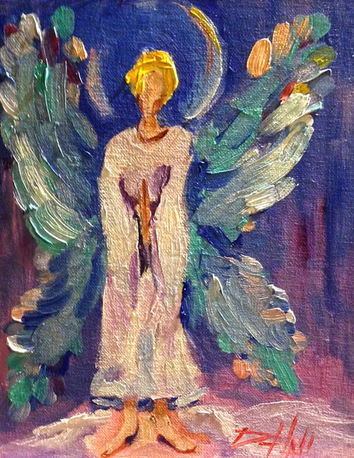 Art: Angel No. 25-sold by Artist Delilah Smith