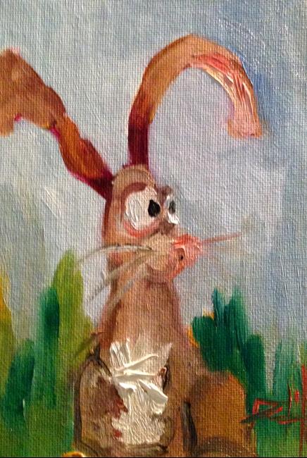 Art: Rabbit No. 4 by Artist Delilah Smith