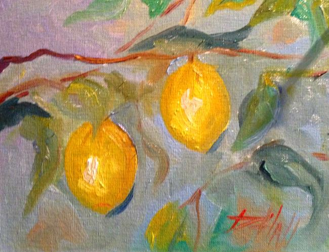 Art: Lemon Tree by Artist Delilah Smith