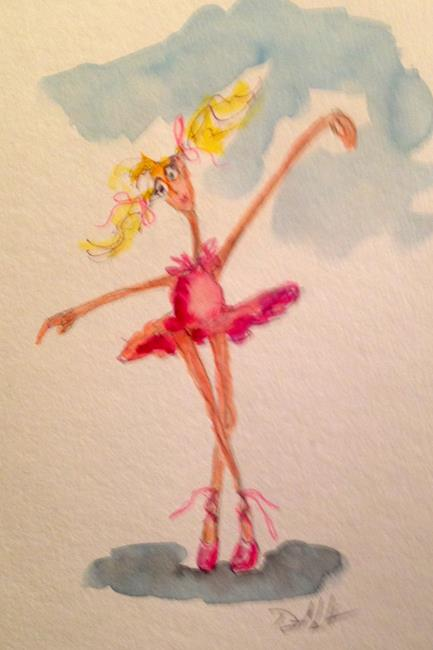 Art: Ballerina No. 9 by Artist Delilah Smith