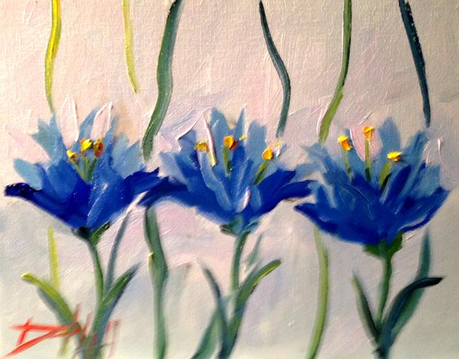 Art: Crocus No. 3 by Artist Delilah Smith