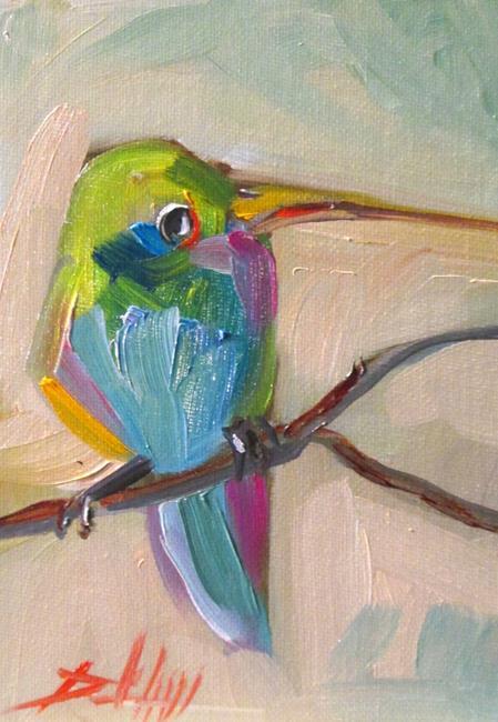 Art: Hummingbird No. 18 by Artist Delilah Smith