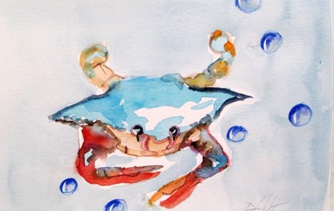 Art: Blue Crab No. 19 by Artist Delilah Smith