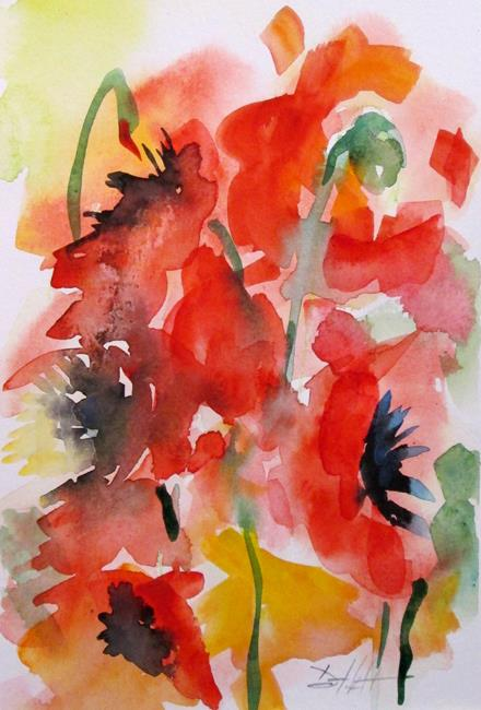 Art: Poppies No. 12 by Artist Delilah Smith