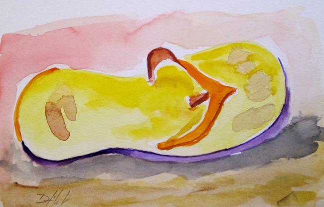 Art: Flip Flop by Artist Delilah Smith