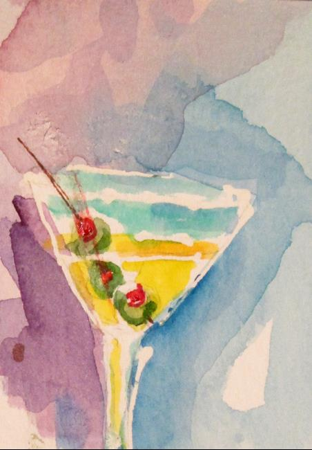Art: Martini by Artist Delilah Smith