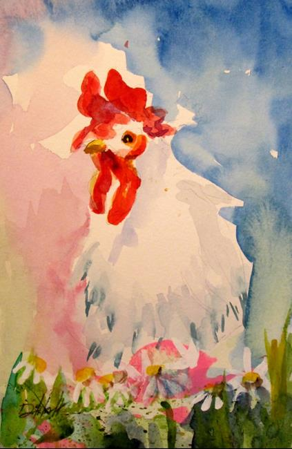 Art: Rooster No. 44 by Artist Delilah Smith