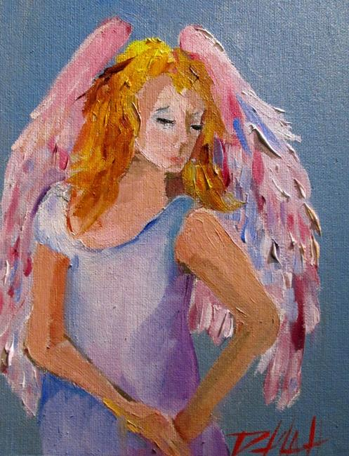 Art: Angel No. 26 by Artist Delilah Smith