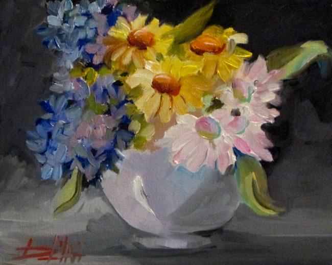 Art: Floral Still Life No. 5 by Artist Delilah Smith