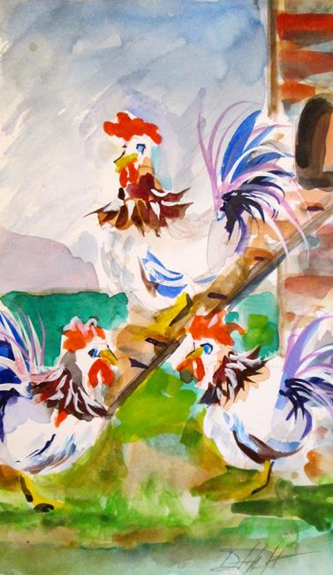 Art: Chicken Coop by Artist Delilah Smith