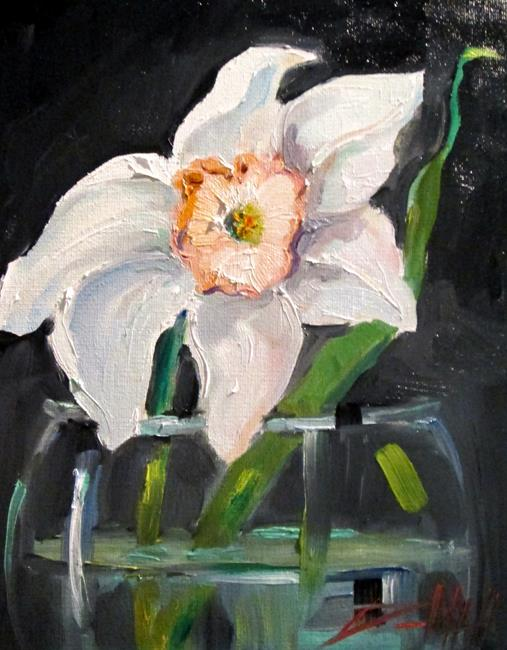 Art: Daffodil No. 4 by Artist Delilah Smith