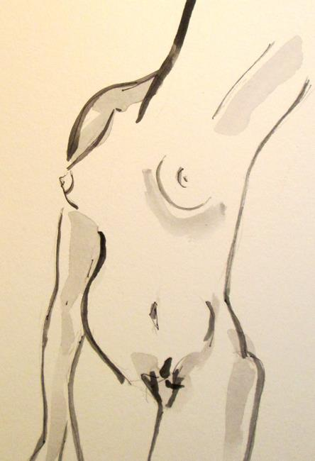 Art: Female Nude by Artist Delilah Smith