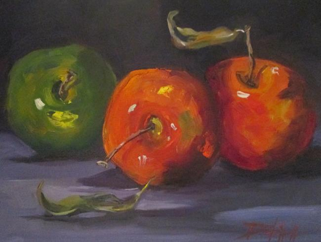 Art: Apples No. 24 by Artist Delilah Smith