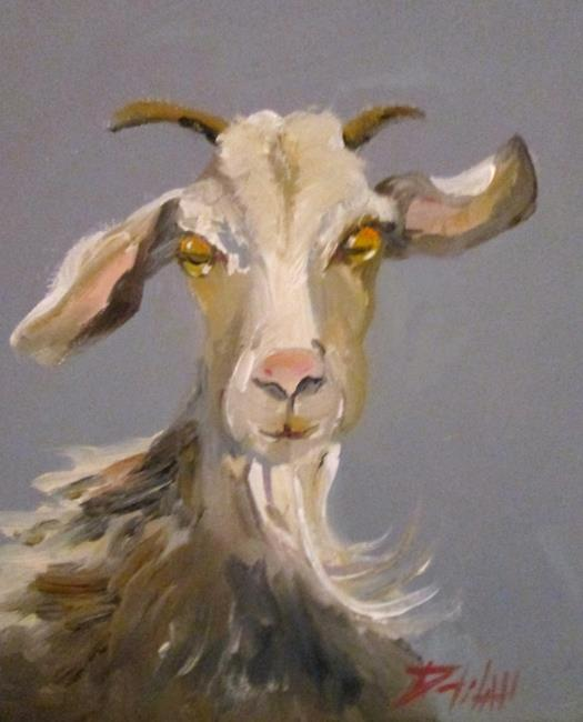 Art: Goat No. 8 by Artist Delilah Smith