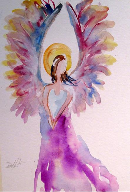 Art: Angel No. 27 by Artist Delilah Smith