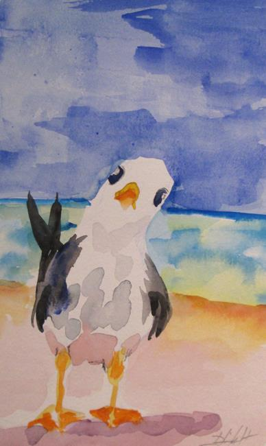 Art: Seagull No. 7 by Artist Delilah Smith