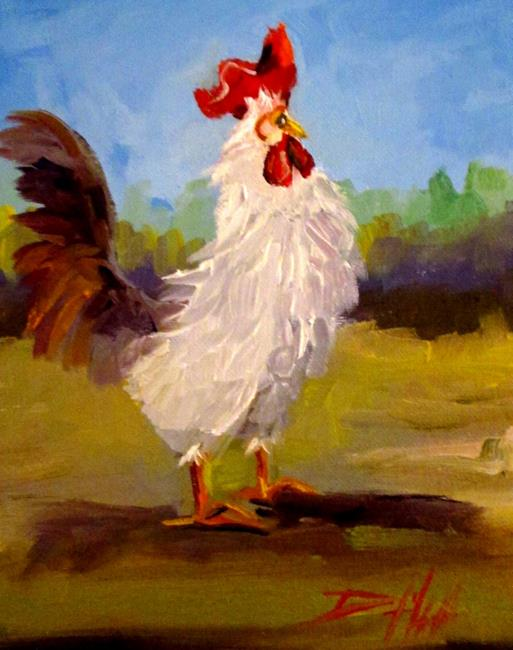 Art: Rooster No. 47 by Artist Delilah Smith