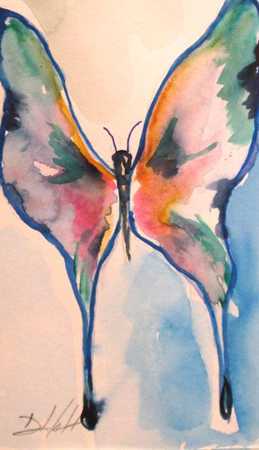 Art: Butterfly No.3 by Artist Delilah Smith