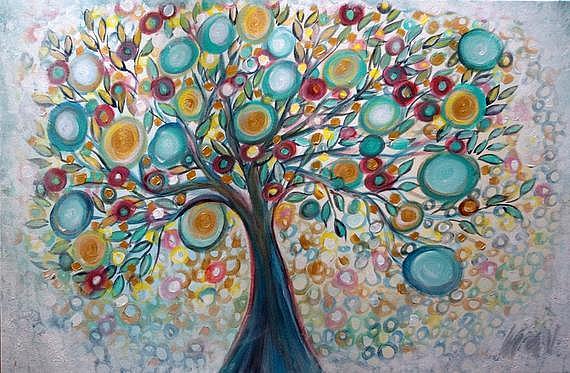 Art: Joyful Moments by Artist LUIZA VIZOLI