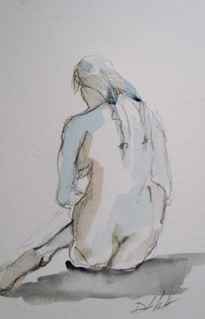 Art: Nude No. 9 by Artist Delilah Smith