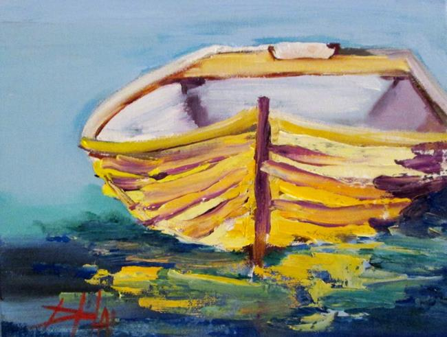 Art: Row Boat No. 8 by Artist Delilah Smith