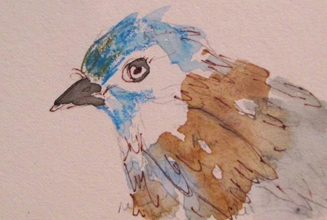 Art: Bluebird by Artist Delilah Smith