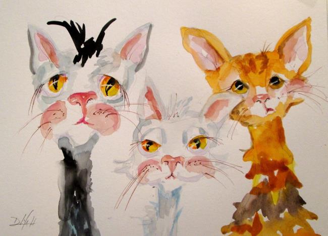 Art: Tres Amigos by Artist Delilah Smith