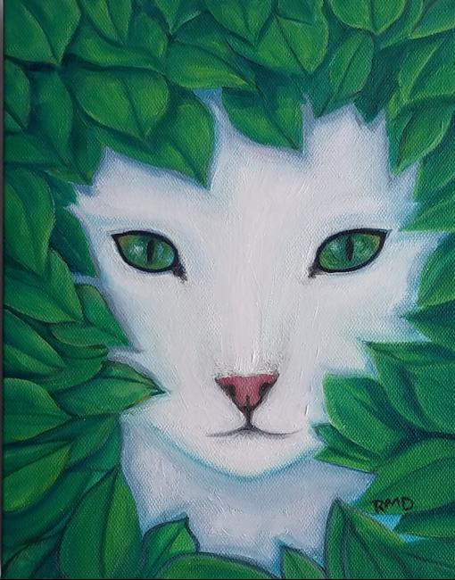 Art: LITTLE MISS PRINCESS by Artist Rosemary Margaret Daunis