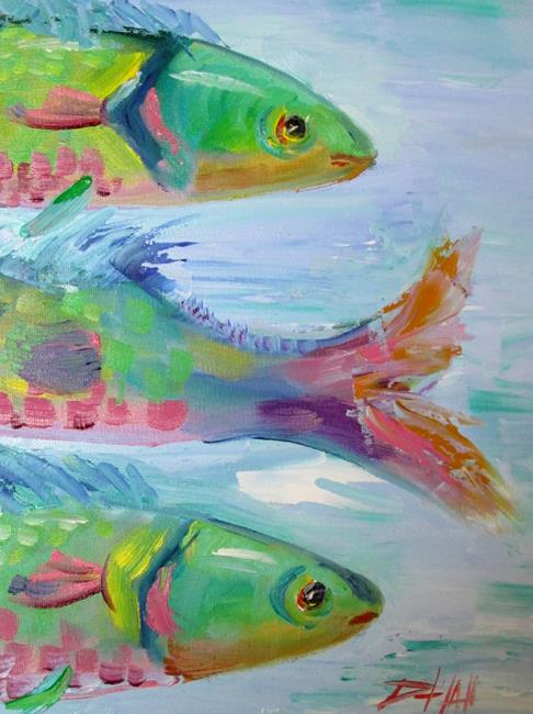 Art: Heads and Tail by Artist Delilah Smith