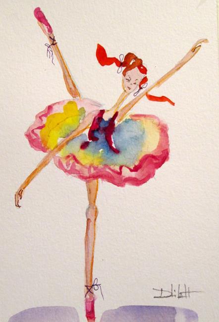 Art: Ballerina No. 11 by Artist Delilah Smith
