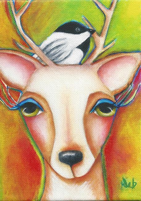 Art: Josephine by Artist Deb Harvey